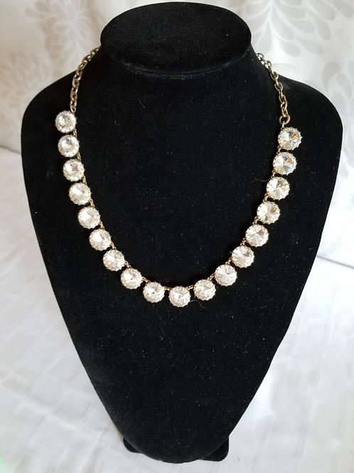 Rhinestone Necklace (Lot 32)
