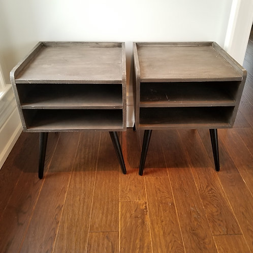 Pair of Side Tables Lot 24