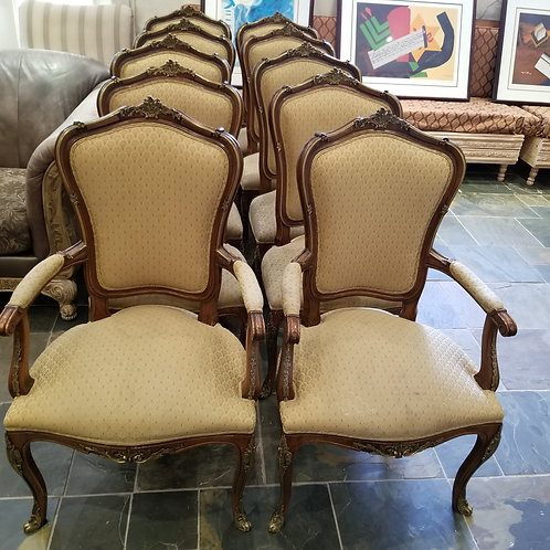 Lot 83 - Set of 10 Chairs