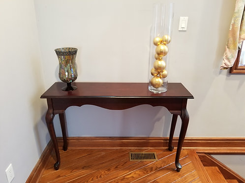Table with Vases