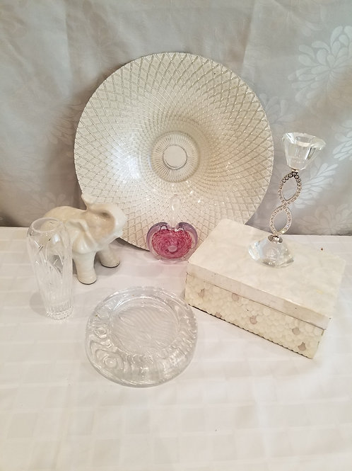Assorted Decor Items (Lot 6)