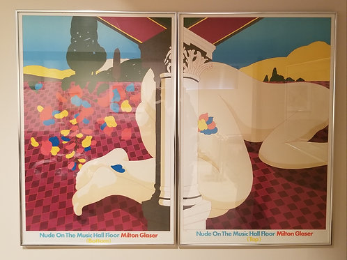 Pair of posters Lot 137
