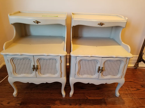 Pair of Night Tables   (Lot 50)