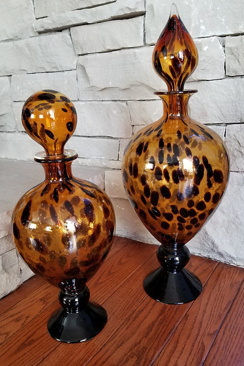 Pair of Decorative Decanters
