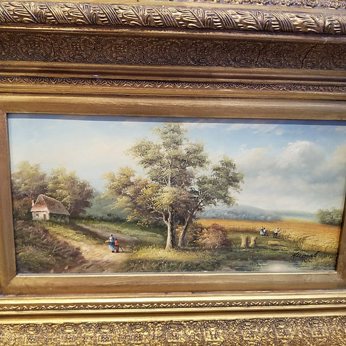 Lot 119 Gold Framed Painting
