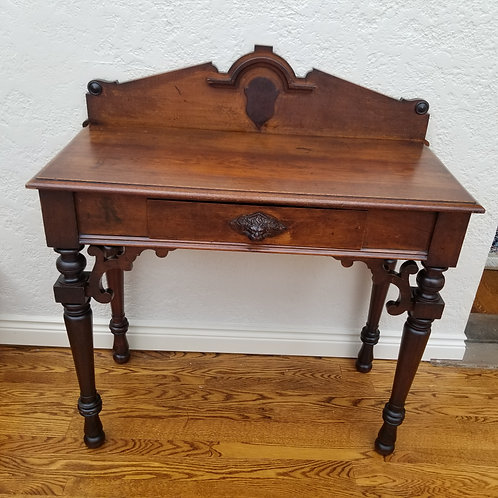 Lot 10 Mahogany Side Table/Server