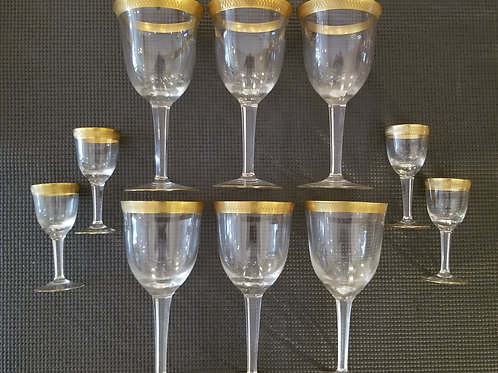 10 Crystal Stemware Glasses  (Lot 88)