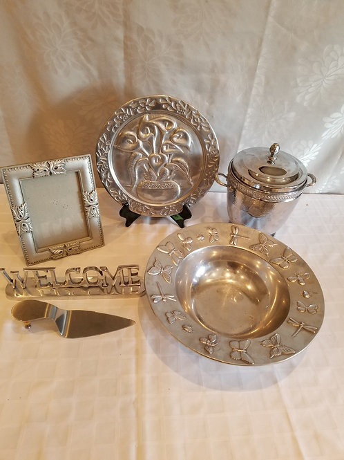 Pewter Items (Lot 20)