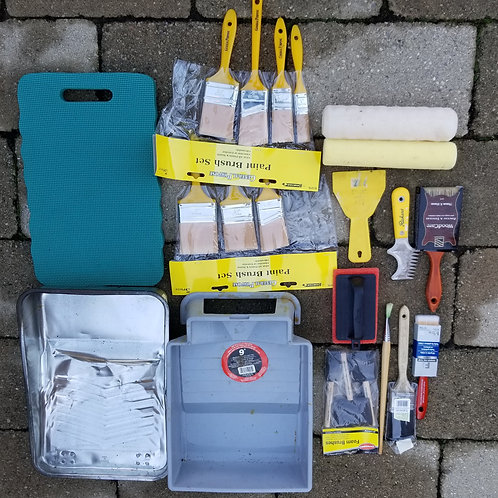 Painting Supplies - Lot 5