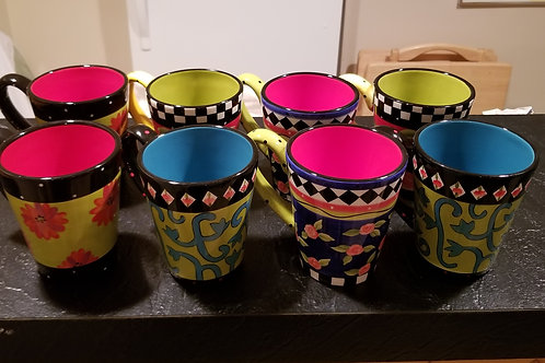 Set of mugs Lot 71