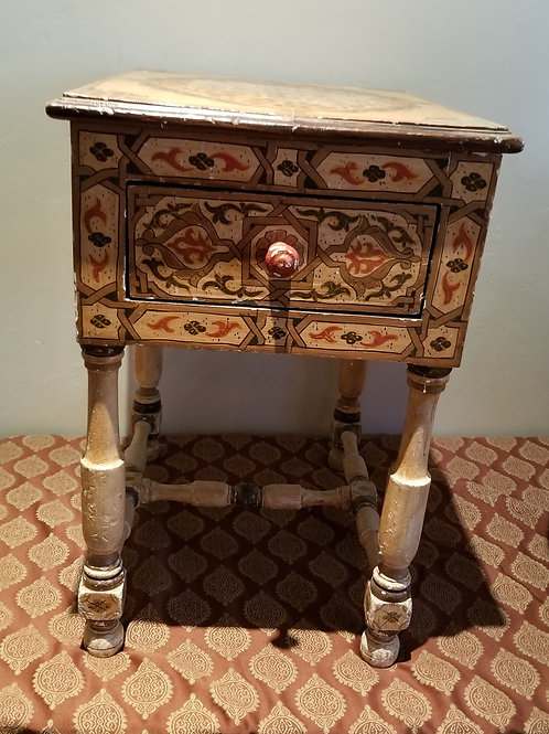 Lot 111 - Moroccan Side Table