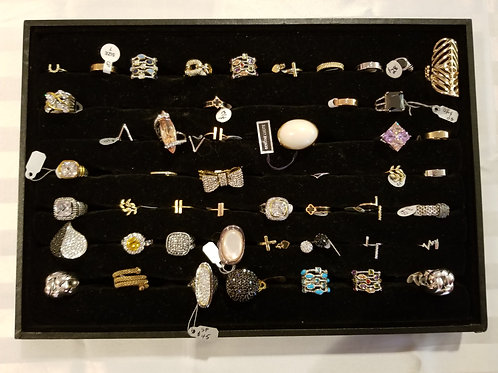 Assorted rings (New) LOT 7