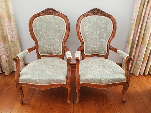 Pair of Florentine Chairs