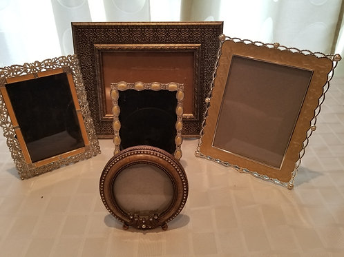 5 Assorted Photo Frames (Lot 10)