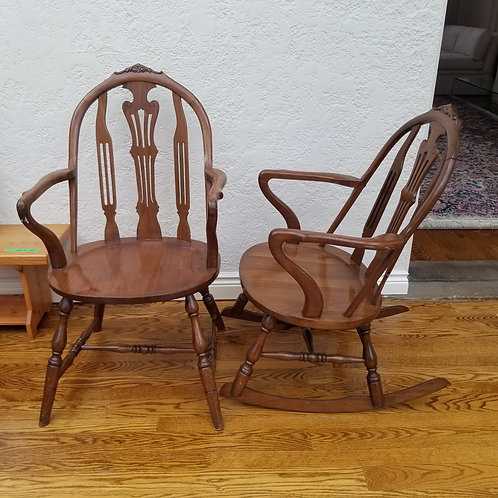 Lot 7 Pair of Chairs