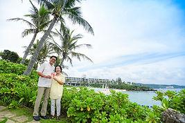 沖縄 神戸 石垣島 家族旅行写真 バウリニューアル ウェディングフォト 結婚写真 ビーチフォト