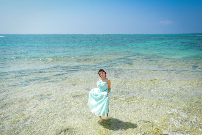 沖縄 宮古島 京都 フォトウエディング 恩納村 ビーチフォト 結婚写真