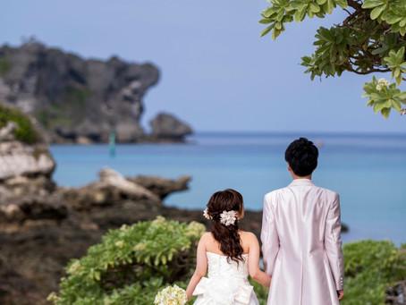 お客様の撮影レポート【おんなそんビーチフォト アルバムパッケージ】★ご結婚記念