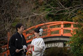 京都 下鴨神社 和装 フォトウエディング ウェディングフォト 糺の森 前撮り