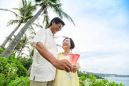 沖縄 神戸 石垣島 バウリニューアル 家族旅行写真 ウェディングフォト 結婚写真 シニア 3世代旅行の撮影