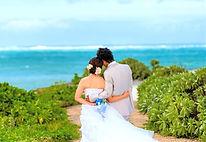 沖縄 恩納村 フォトウエディング ウェディングフォト ビーチフォト 前撮り 結婚写真 アルバム