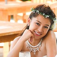 沖縄 恩納村 フォトウエディング ウェディングフォト ビーチフォト 皿の上の自然 ヘアチェンジ