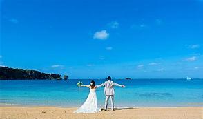 沖縄 恩納村 フォトウエディング ビーチフォト ウェディングフォト 前撮り