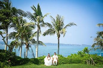沖縄 京都 フォトウエディング ウェディングフォト ビーチフォト 結婚写真の前撮り スタジオムーン ムーンビーチのガーデンフォトとチャペルフォト