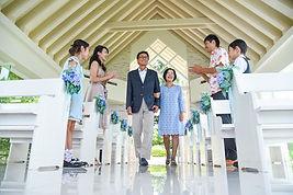 沖縄 神戸 家族旅行写真 バウリニューアル ウェディングフォト 結婚写真 チャペルフォト