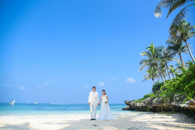 沖縄 宮古島 京都 フォトウエディング 結婚写真 恩納村 ビーチフォト