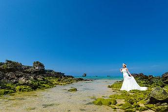 沖縄 宮古島 京都 神戸 フォトウエディング ウェディングフォト ビーチフォト 恩納村の結婚写真の前撮り