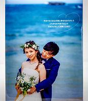 沖縄 フォトウエディング ウェディングフォト ビーチフォト 前撮り 恩納村の結婚写真 フォトパネル
