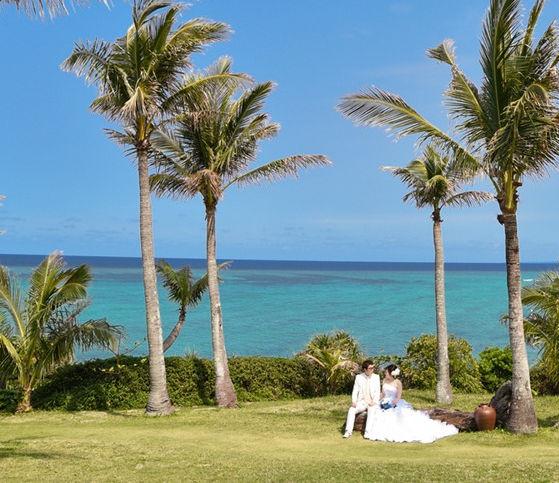京都 沖縄 下鴨神社 和装 フォトウエディング ウェディングフォト 結婚写真の前撮り