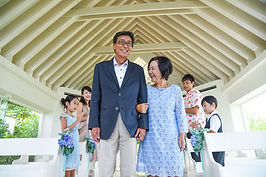 沖縄 神戸 石垣島 バウリニューアル 家族旅行写真 ウェディングフォト チャペルフォト