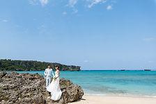 沖縄 恩納村 フォトウエディング ウェディングフォト ビーチフォト 前撮り 結婚写真