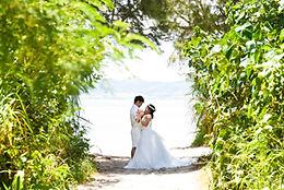 沖縄 石垣島 宮古島 京都 神戸 フォトウエディング ウェディングフォト ビーチフォト 結婚写真の前撮り
