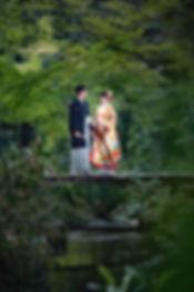 京都 沖縄 フォトウエディング ウェディングフォト 結婚写真の前撮り 下鴨神社