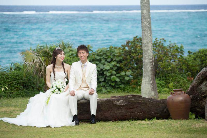 沖縄フォトウエディング ビーチフォト