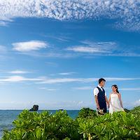 沖縄 恩納村 フォトウエディング ウェディングフォト ビーチフォト 前撮り データ追加