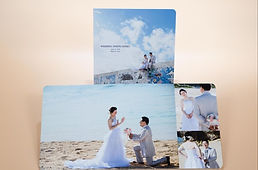 沖縄 フォトウエディング ムーンビーチ ウェディングフォト ビーチフォト チャペルフォト 前撮り 恩納村の結婚写真 アルバムパッケージ