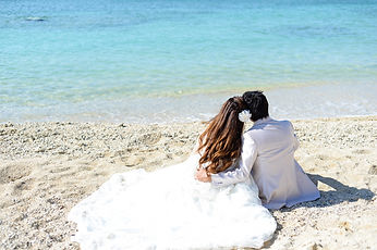 沖縄 宮古島 京都 神戸 フォトウエディング ウェディングフォト ビーチフォト 恩納村 結婚写真の前撮り