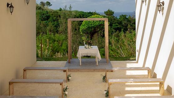 沖縄 恩納村 フォトウエディング 皿の上の自然 チャペルフォト ビーチフォト 結婚式 ウェディングフォト