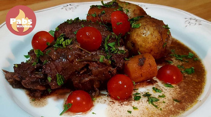Rabbit Chanfana with Red Wine