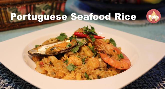 Portuguese Seafood Rice 🦐🦀