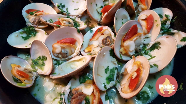 Delicious Garlic Clams