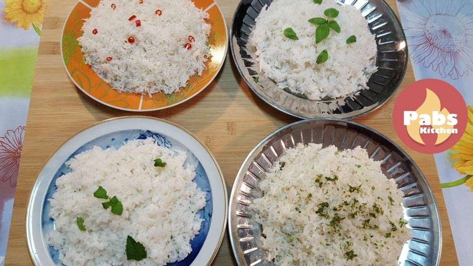 Perfect Cooked Simple Rice Recipe - Basmati, Jasmine, Caroline, Parboiled (Steamed)