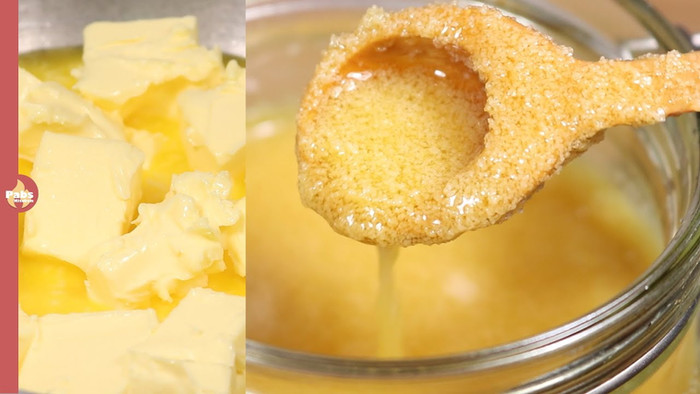 Grainy, Runny Ghee with Nutty Aroma