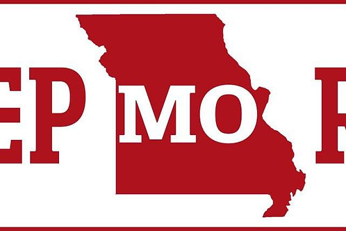 Keep MO Red Sticker