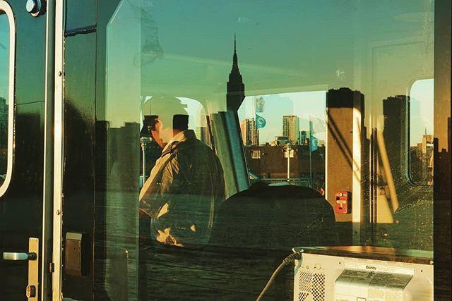 As long as I gaze on New York sunset, I