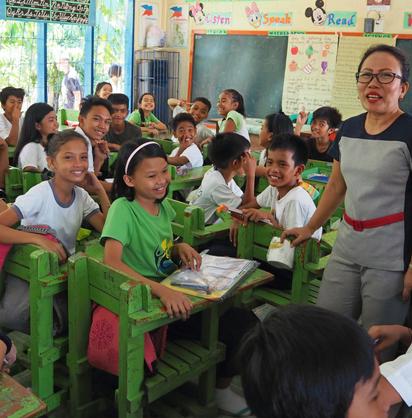 A Bonifacio Elementary School Classroom